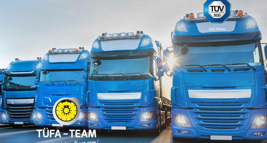 BOKraft: TÜFA-TEAM führt Prüfungen und Hauptuntersuchungen der Fahrzeuge zur Personenbeförderung durch.
