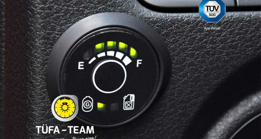 GSP – Die Gassystem-Prüfung nach Einbau einer Gasanlage in ein Kraftfahrzeug.