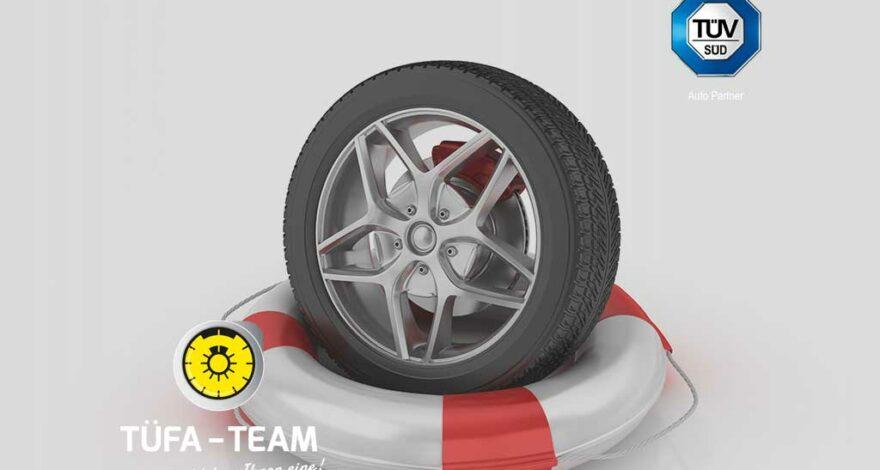 Sicherheitsprüfung für schwere Fahrzeuge - TÜFA-TEAM