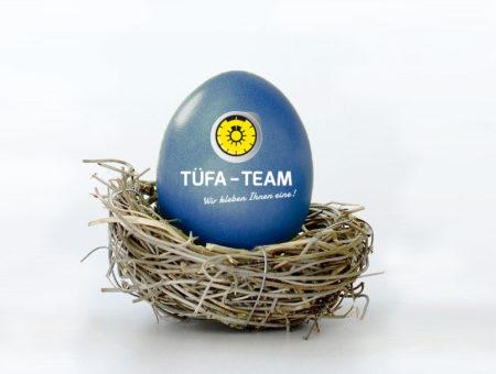 Frohe Ostern wünscht das TÜFA-TEAM