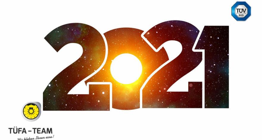 2021 – Wir freuen uns auf Dich
